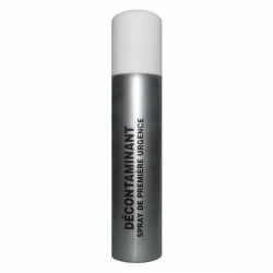 Décontaminant lacrymogène GAZ, GEL et CPS 50 ml