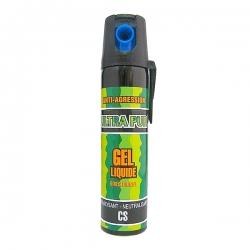 Bombe lacrymogène 75ml GEL liquide - ULTRAPUR